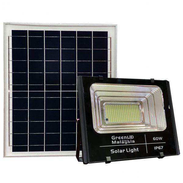 Đèn Pha năng lượng mặt trời 60W GreenLed
